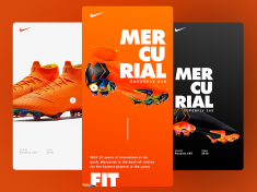 Nike Mercurial by Daniel Sales
