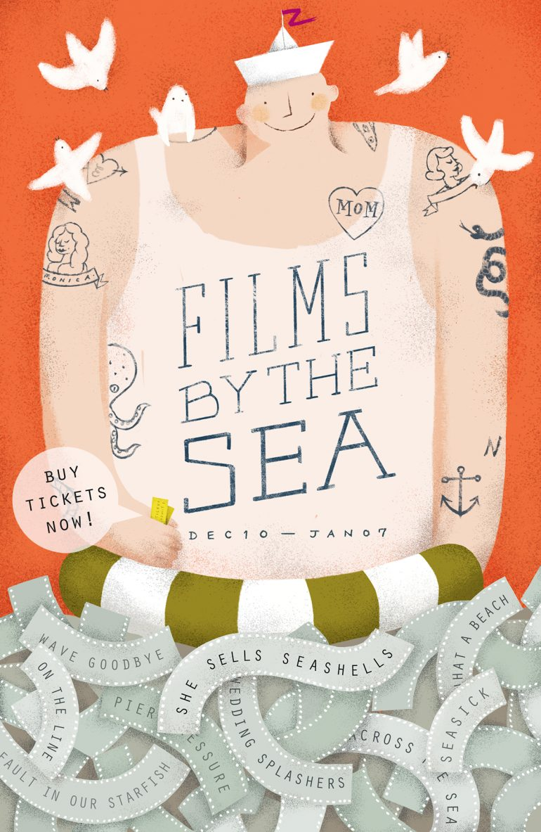 Films By The Sea – Poster Design