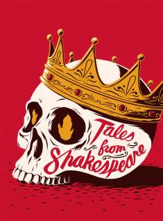 Puffin Classics 'Tales From Shakespeare' Book Cover