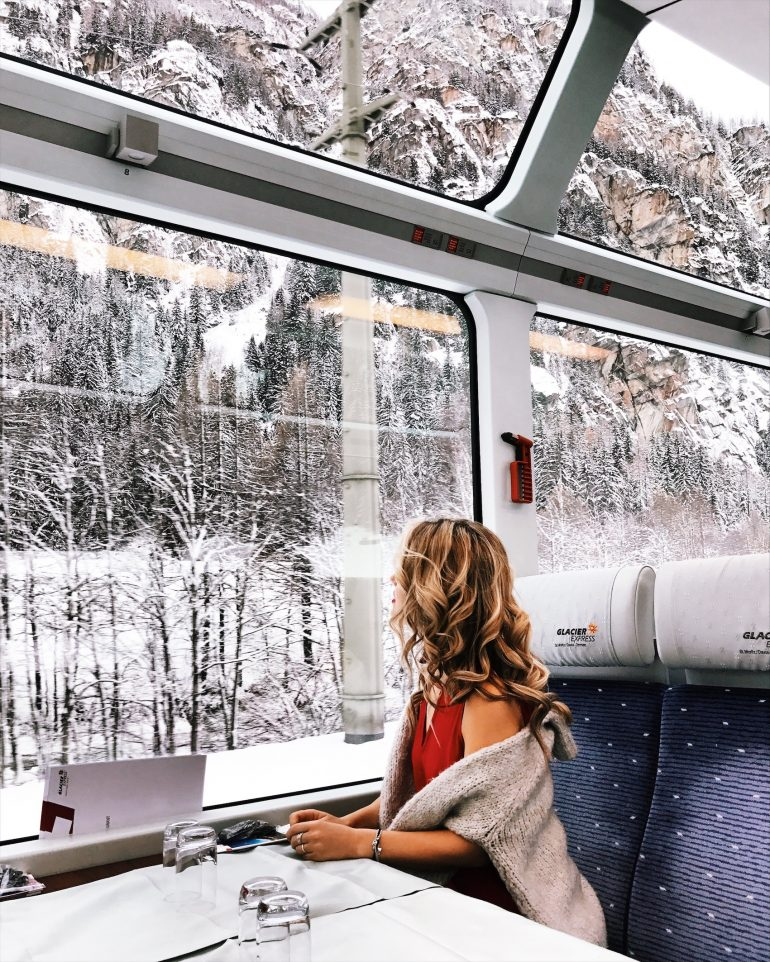 Traveling on the Glacier Express – Just moved to Switzerland