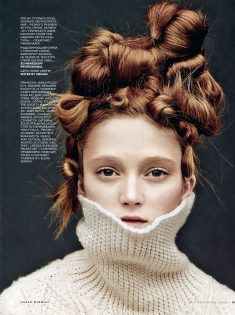 Sophie Touchet Vogue Russia September