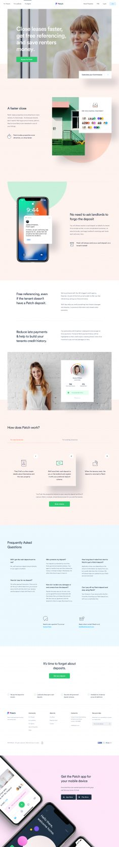 Patch – Agent Landing Page by Filip Justić