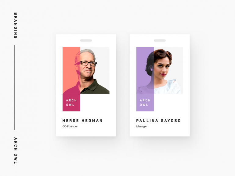 Corporate Office Identity Card by Andrew Trofimenko