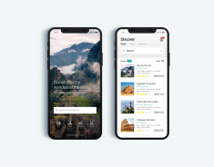 Travel and Tourism App – Daily UI Challenge #6