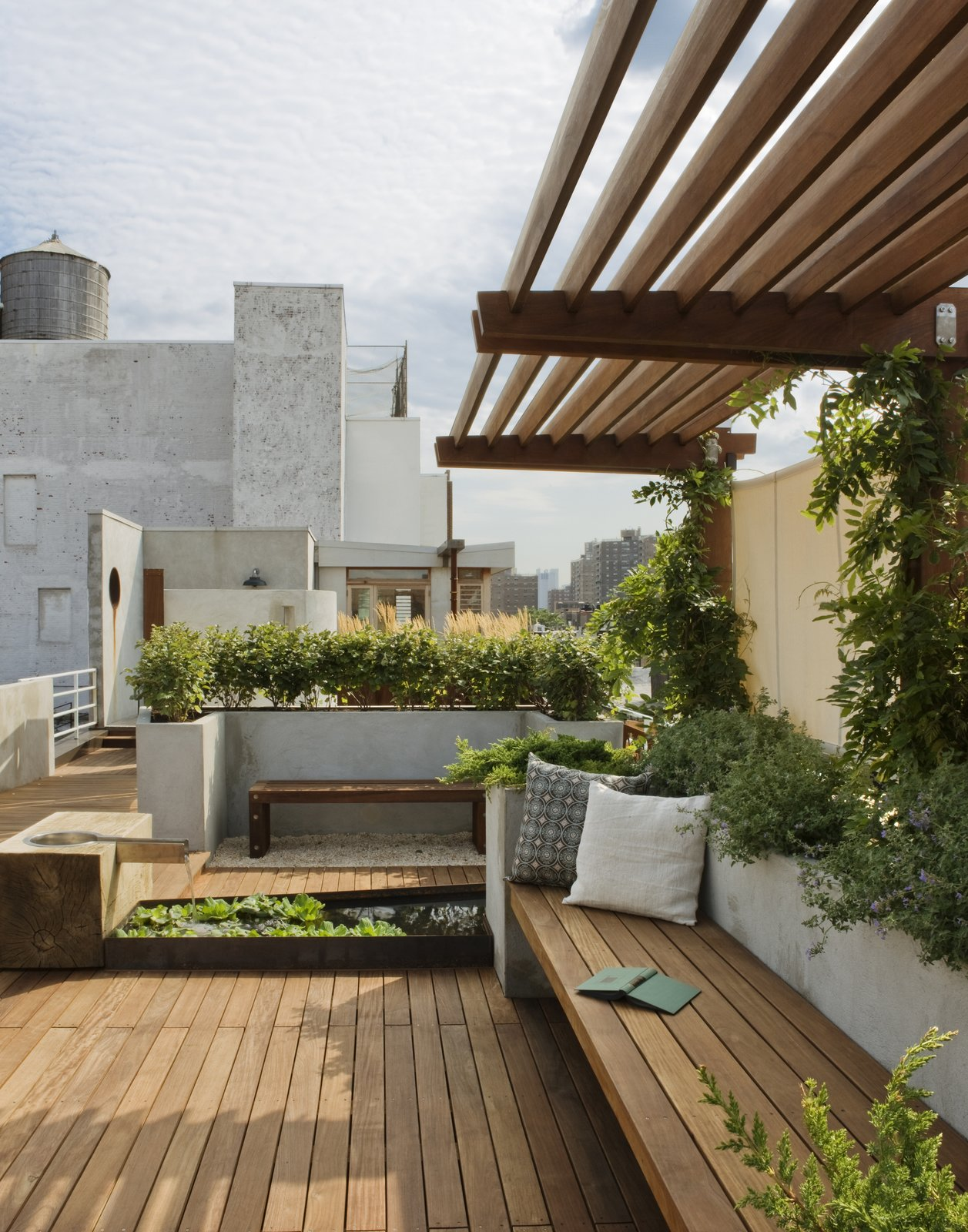 East Village Roof Garden Modern Home In New York New York By