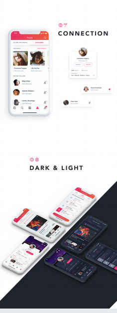 Evez 2.0 – Event Discovery & Booking App UI Kit
