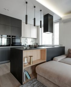 Krakow Apartment by Hi-Light Architects