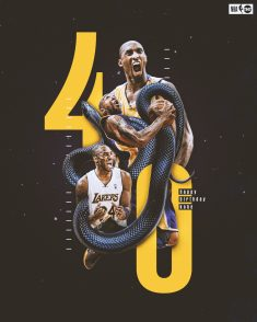 Kobe 40th Birthday