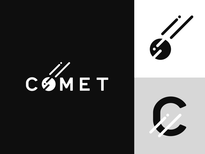 Space logo – Comet by Mike Andrew