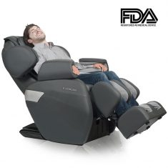 RELAXONCHAIR [MK-II PLUS] Full Body Zero Gravity Shiatsu Massage Chair with Built-In Heat and Ai ...