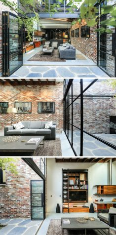 A Garage Was Converted Into This Comfortable Living Space