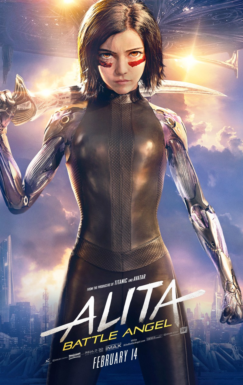 Alita: Battle Angel Character Posters | Nothing But Geek