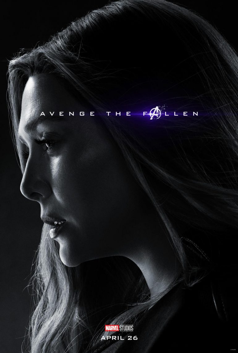 'Avengers: Endgame' Character Posters