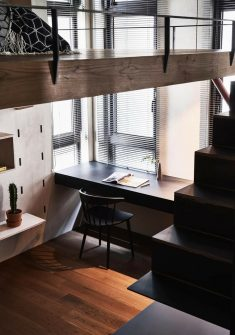 BlackMetal Apartment in Taipei / KC Design Studio