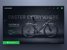 Cannondale Product Page by Rob Robertson