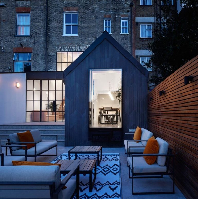 Cornerstone House in London / Merrett Houmoller Architects
