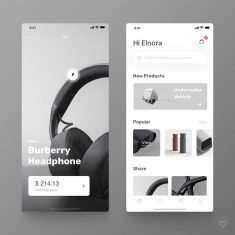 E-commerce – Redesign