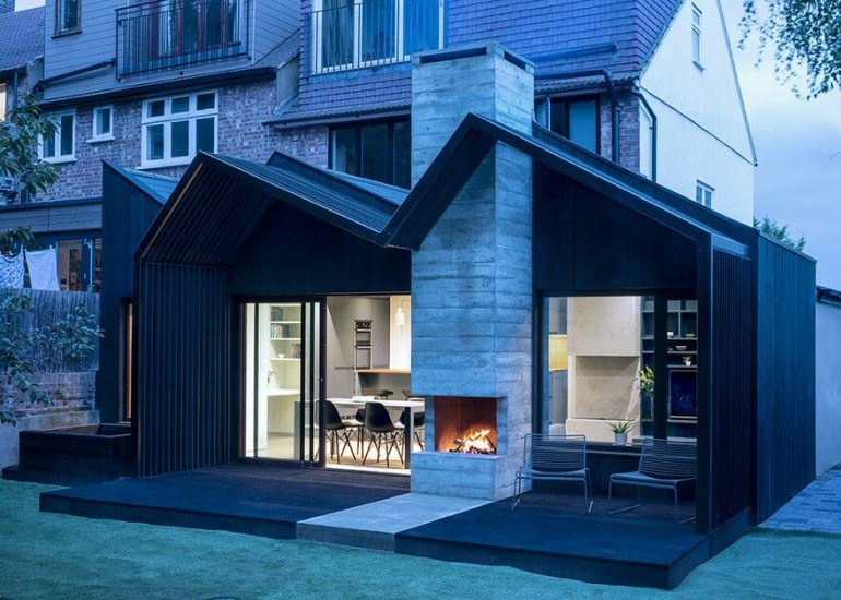 End-of-Terrace Family House in London Gets a Contemporary Extension