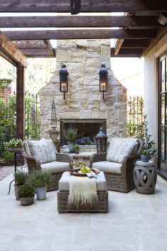 Chic And Glamorous Outdoor Living Spaces