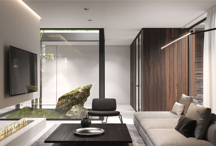 Forest House by Bezmirno Architects