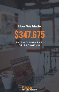 How We Made $347,675 Blogging in Two Months (January & February)
