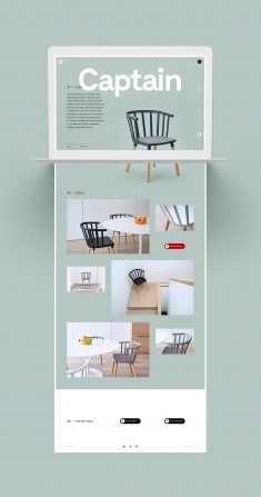 Kvell Furnitures – Website