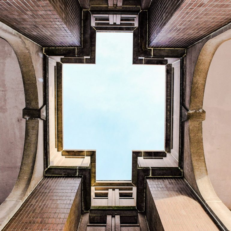 Lookup, travel, minimalism and structure HD photo by Hannah Reding