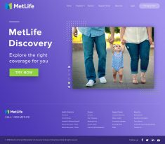 MetLife Home page Redesign