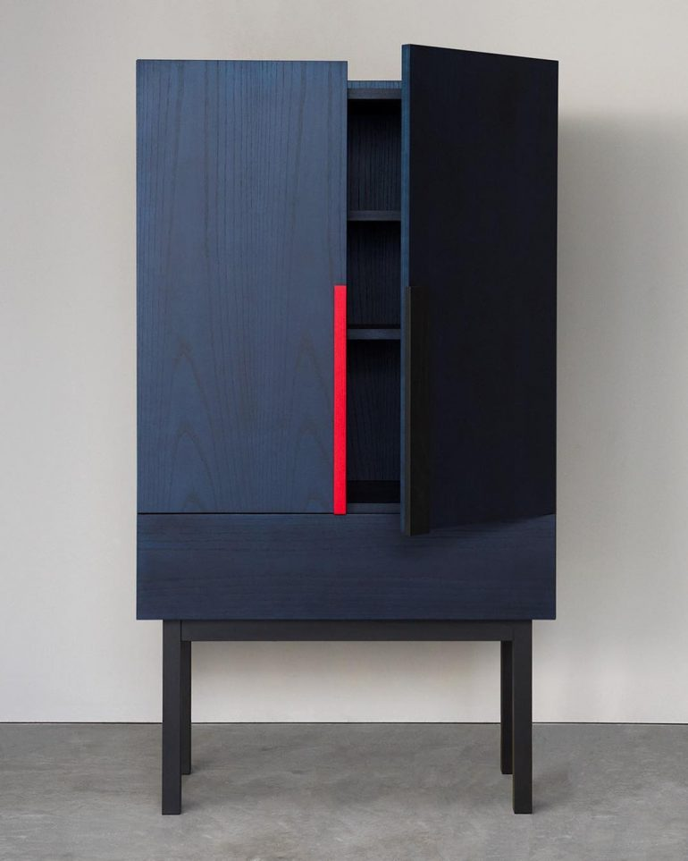 Aizome cabinet by @zoemowat for Ariake