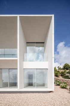 Nomo Studio designs concrete house on Menorca to frame sea views