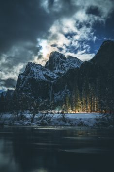 Outdoors, mountain, nature and tree HD photo by Casey Horner