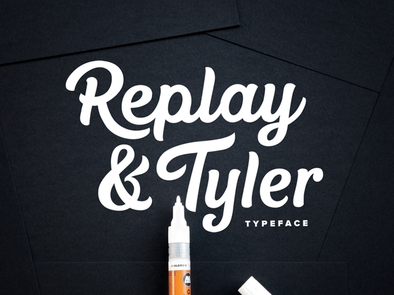 Replay & Tyler Typeface