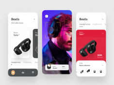 AR Concept app for Beats