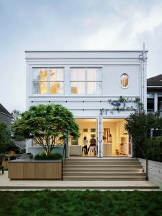 Old Shingle-Style House Transformed by Feldman Architecture into an Elegant Home