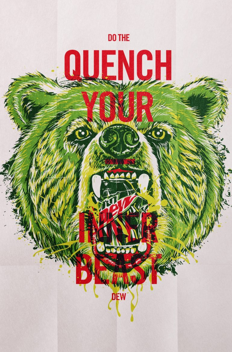 Mountain Dew: Quench Your Inner-Beast