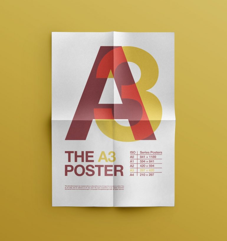 ISO Typography Posters