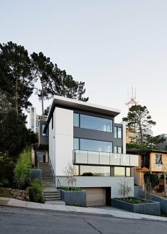 Cole Valley Hillside Home in San Francisco / John Maniscalco Architecture