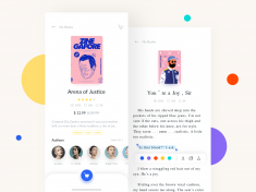 Reading App Design Project – Detail & Reading