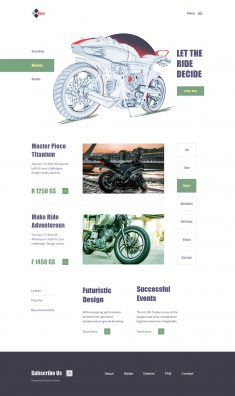 Automotive Company Website
