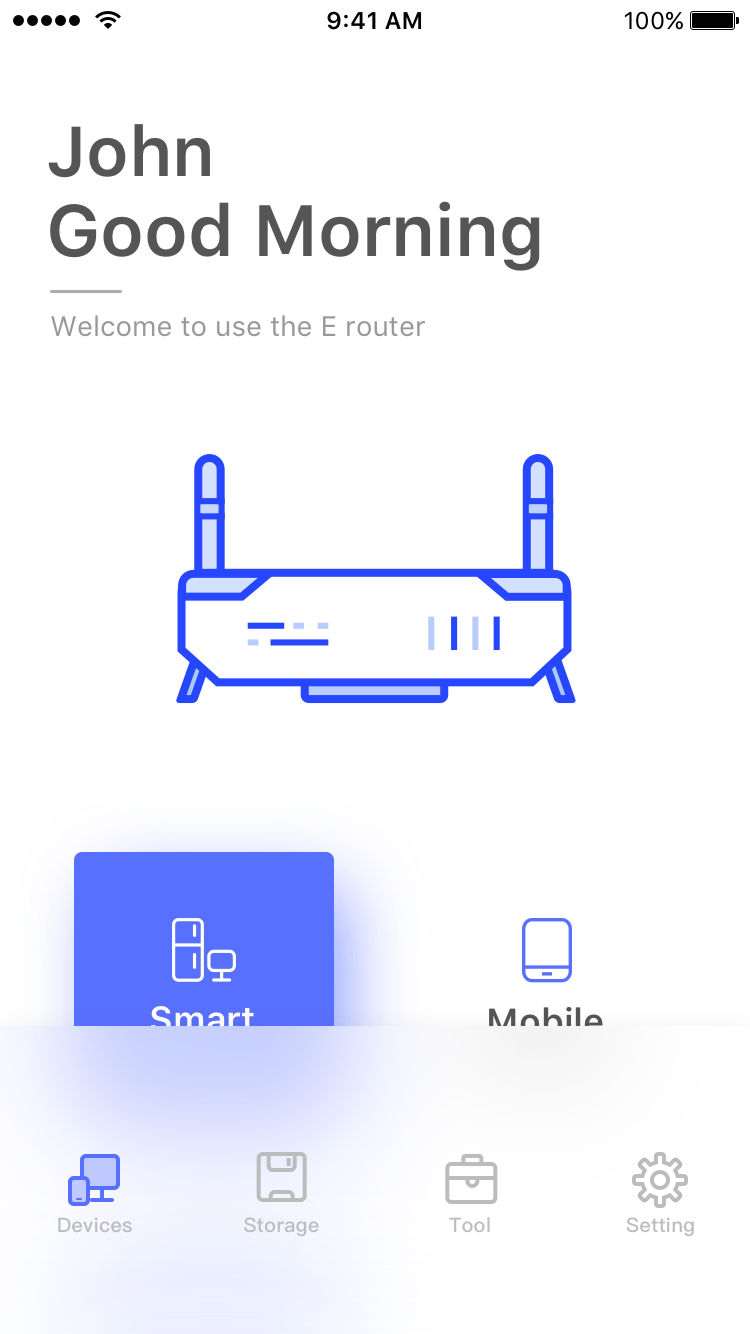 Smart router