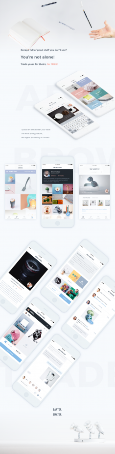 Trade app. – Collection