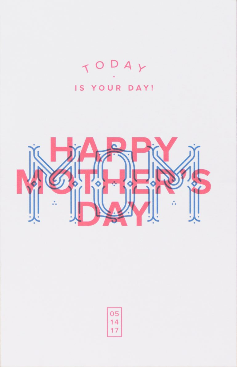 Full Swing Mother's Day Card