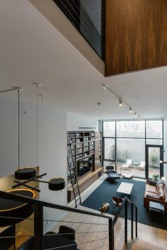 Furman Street Duplex Apartment with Double Height Living Space