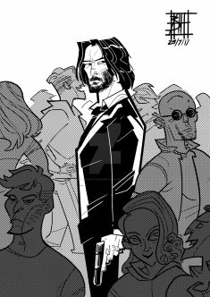 John Wick by BOAT AGAINST HUMANITY