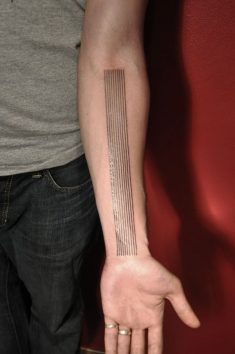 Forearm as fingerboard