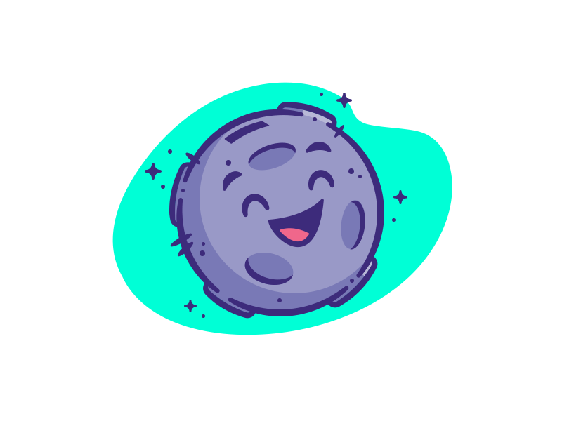 Moonbank Mascot – Happy Avatar