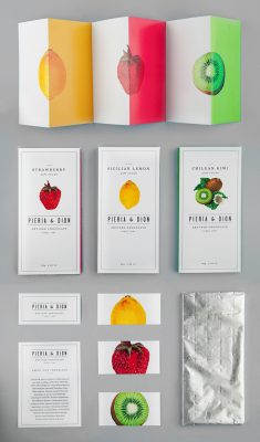Pieria & Dion Packaging