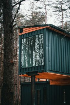 THE BOX HOP CONTAINER CABIN