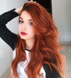 These redheads auburn balayage really are stylish