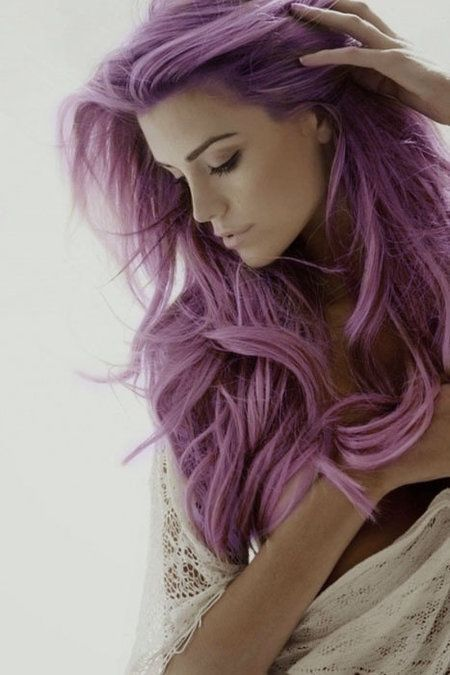 The Different Shades of Purple Hair